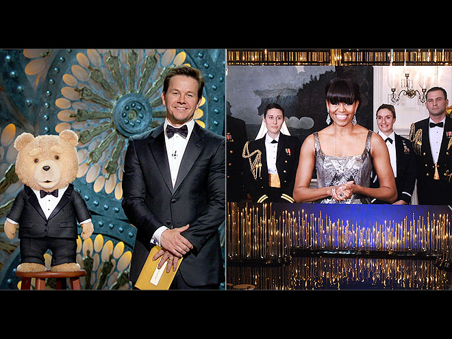 2. OSCARS DIPLOMACY: FLOTUS AND TED photo | Mark Wahlberg, Michelle Obama