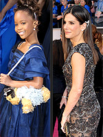 Oscars Accessories for the Win! | Sandra Bullock