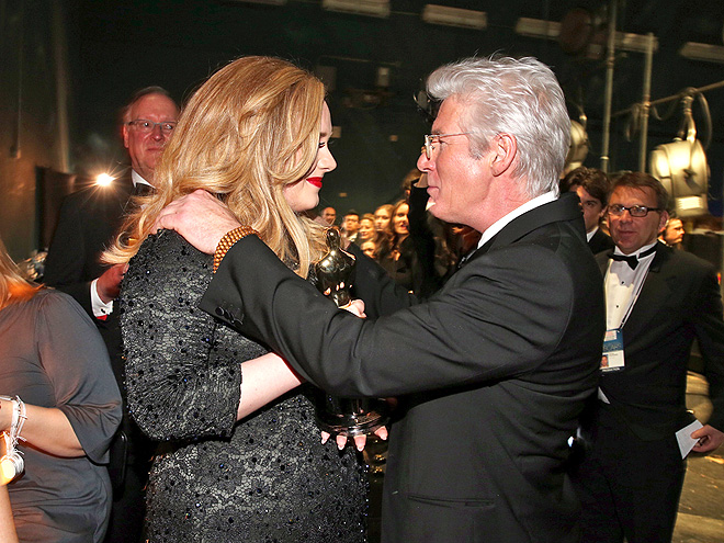 PROUD MOMENT photo | Adele, Richard Gere