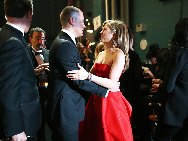 PEP TALK photo | Channing Tatum, Jennifer Aniston