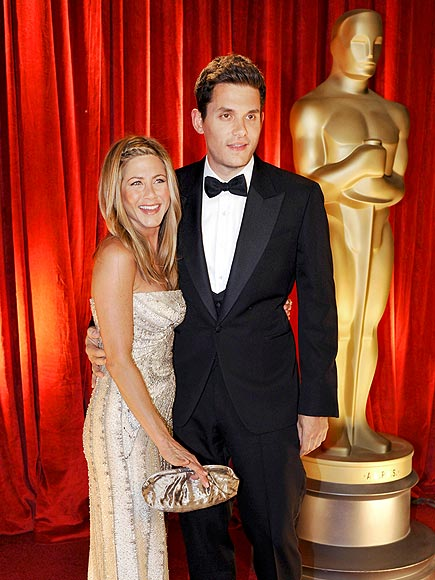 JENNIFER & JOHN photo | Jennifer Aniston, John Mayer