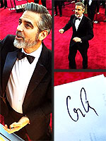 Your Photos of Stars on the Red Carpet | George Clooney