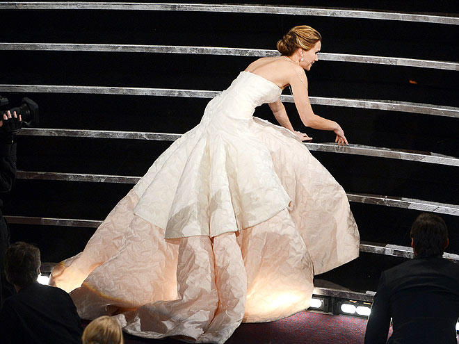 2. LAUGH OFF YOUR FALLS photo | Jennifer Lawrence