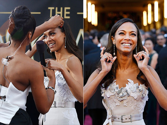 HAIR APPARENT photo | Zoe Saldana