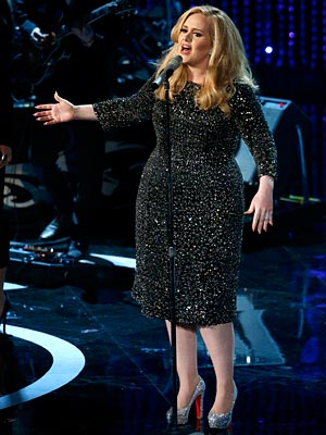 Adele Oscars 2013 Performance