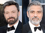 Oscars Hottest Red Carpet Trend: Men in Beards! | Ben Affleck, George Clooney, Justin Theroux