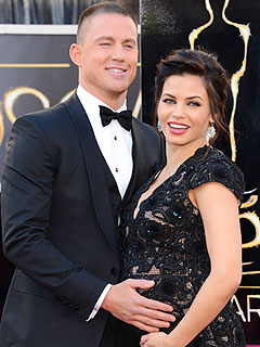 Channing Jenna Dewan-Tatum Welcome Daughter