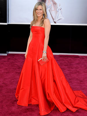 Jennifer Aniston Oscars gown