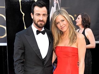 Yowza! Jennifer Aniston & Justin Theroux Look Stunning at the Oscars | Jennifer Aniston, Justin Theroux