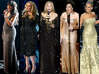POLL: Which Diva Had the Biggest Oscars Musical Moment? | Adele, Jennifer Hudson, Kristin Chenoweth, Shirley Bassey