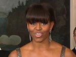 All the Details on Michelle Obama's Oscar Look | Michelle Obama