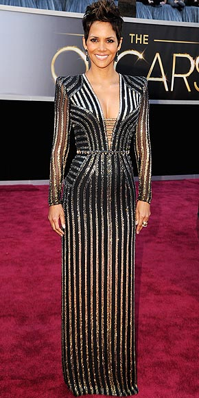 HALLE BERRY'S STRIPES photo | Halle Berry