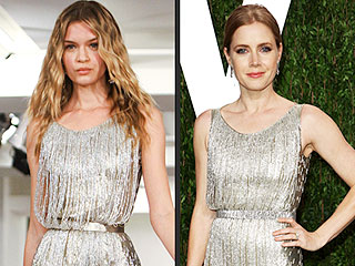 High-Fashion Faceoff: Runway vs. Oscars Red Carpet | Amy Adams