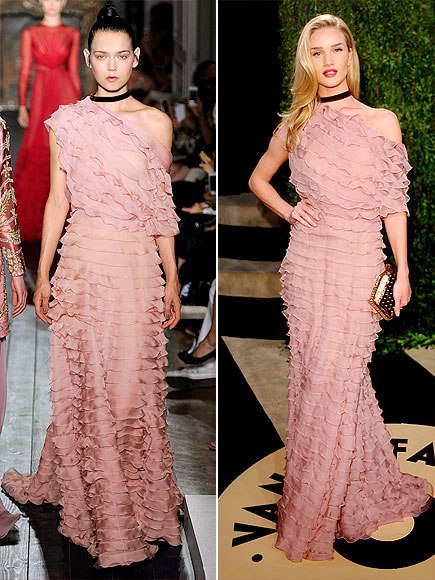 ROSIE IN VALENTINO photo | Rosie Huntington-Whiteley
