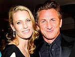 Sean Penn and Robyn Wright