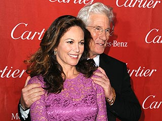 Stars Celebrate in Palm Springs | Diane Lane, Richard Gere