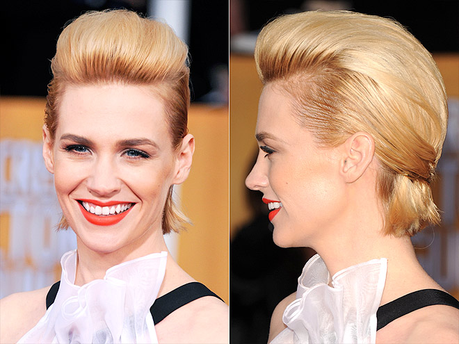 JANUARY&#39;S GRAVITY-DEFYING COIF photo | January Jones