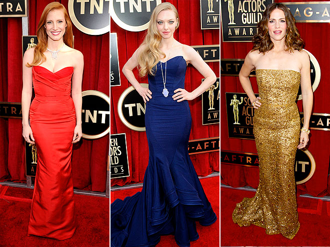PICK YOUR TOP 5 GOWNS! photo | Amanda Seyfried, Jennifer Garner, Jessica Chastain