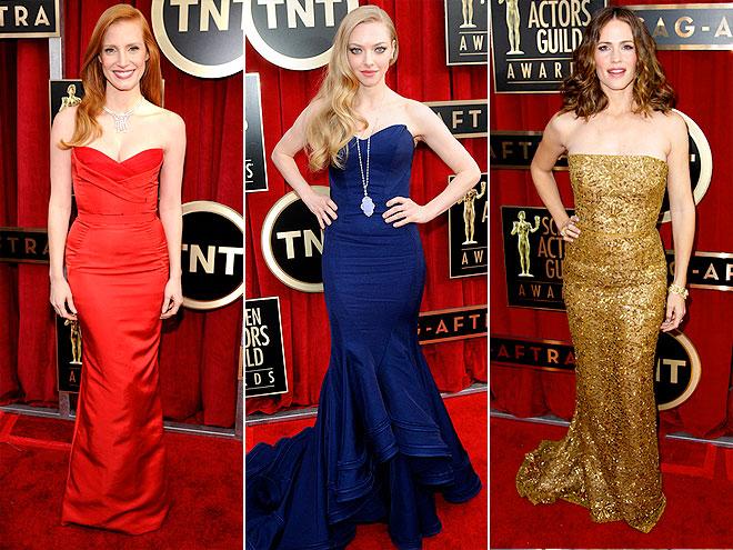 Премия Гильдии киноактеров-2013: выбираем самое красивое платье