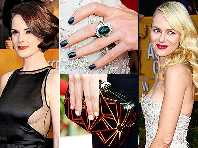 Best Dressed at the SAG Awards | Michelle Dockery