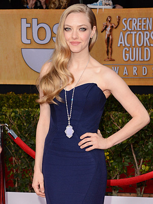 And the Most Popular Dress Color of the SAGs Was ... | Amanda Seyfried