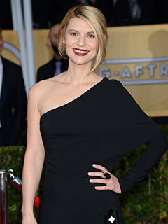 Claire Danes Breastfeeding SAG Awards