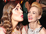 Laughs, Hugs & Kisses: SAG After-Hours! | January Jones, Rose Byrne