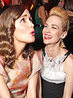 Laughs, Hugs & Kisses: SAG 2013 After-Hours! | January Jones, Rose Byrne
