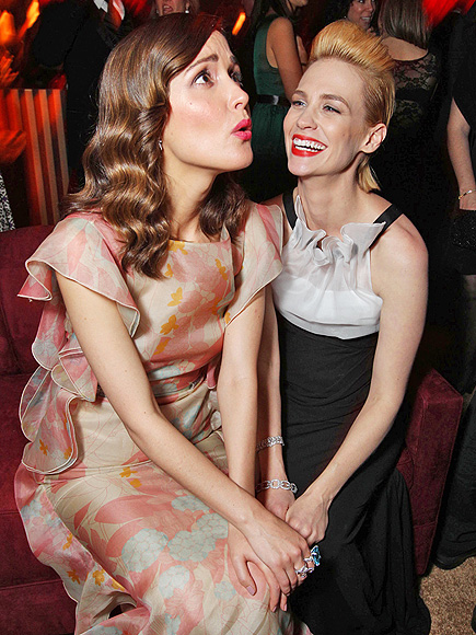 HOLD THAT photo | January Jones, Rose Byrne