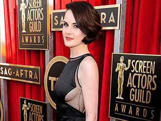 SAG Awards Style: Sexy & They Know It | Michelle Dockery
