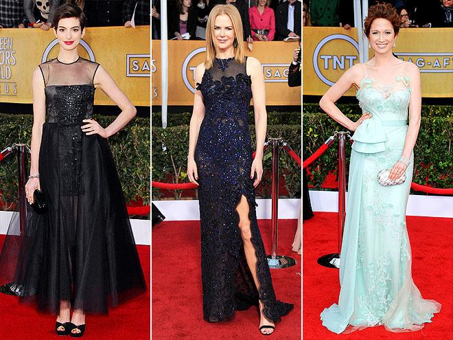 ILLUSION NECKLINES photo | Anne Hathaway, Ellie Kemper, Nicole Kidman