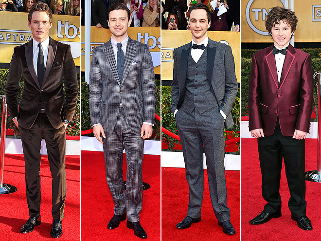 CHARMING SUITS photo | Eddie Redmayne, Jim Parsons, Justin Timberlake
