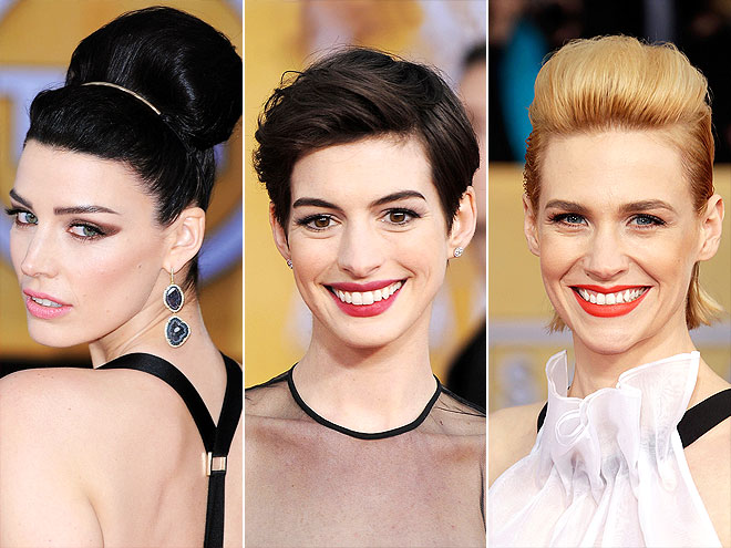 UP, UP, UPDOS photo | Anne Hathaway, January Jones, Jessica Pare
