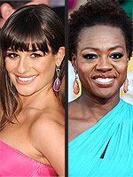 7 Trends Spotted at the SAG Awards | Lea Michele, Morena Baccarin, Viola Davis