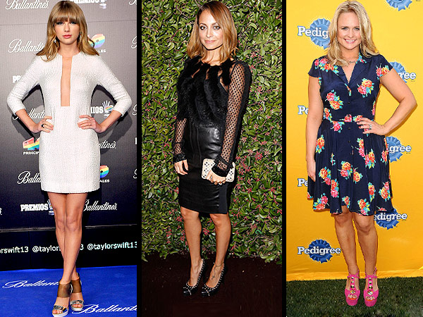 Taylor Swift, Nicole Richie, Miranda Lambert