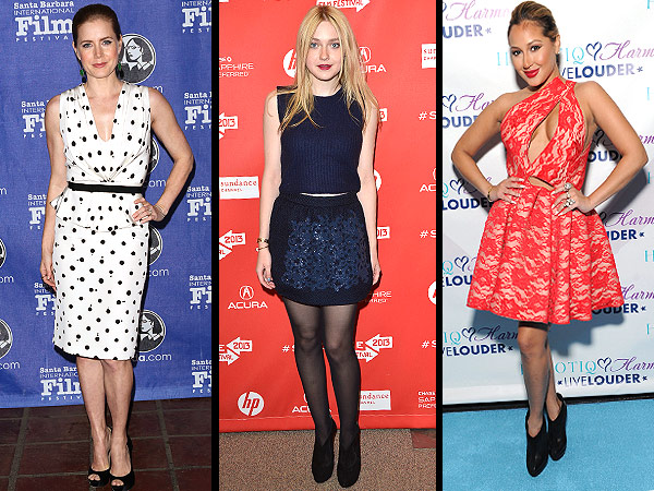 amy adams 600x450 Red Carpet Trend Report: The Scoop on Polka Dots, Cropped Sweaters & Sexy Slits