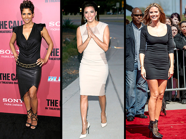 Eva Longoria, Heidi Klum shoes