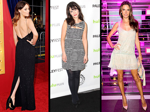 olivia wilde 600x450 Red Carpet Trend Report: Surprising Slits, Stripes & the Waistline That Should Be Retired