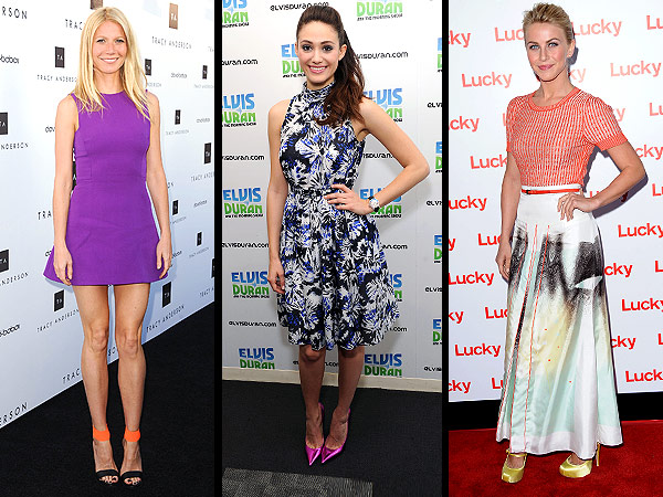 Finally! Say Goodbye to the Bridesmaid Shoe Trend That's Haunted Hollywood | Emmy Rossum, Gwyneth Paltrow, Julianne Hough