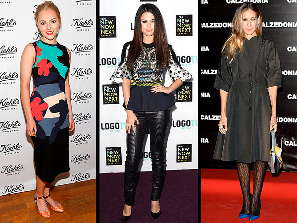 Red Carpet Trend Report: Stars Got Super Funky This Week. In a Good Way, We Promise! | AnnaSophia Robb, Sarah Jessica Parker, Selena Gomez