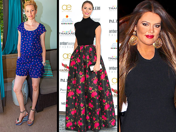 Celebrity dresses, shoes