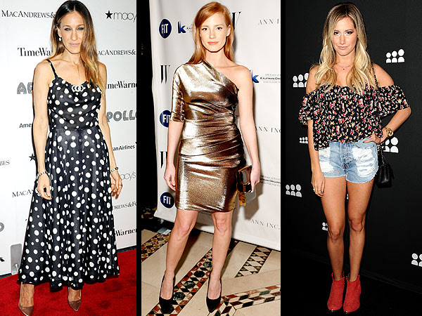 Sarah Jessica Parker, Jessica Chastain, Ashley Tisdale