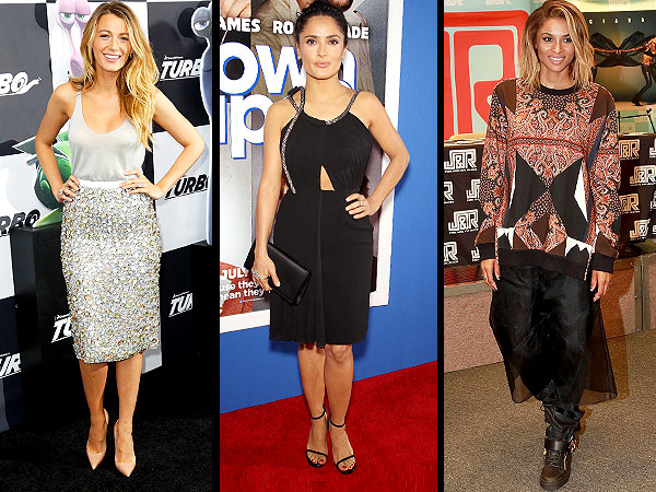 blake lively 600x450 Red Carpet Trend Report: The Scoop on Bejeweled Ensembles, Unusual Necklines and Sweatshirts in the Summer