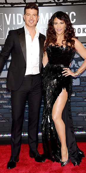 PAULA PATTON & ROBIN THICKE photo | Paula Patton, Robin Thicke