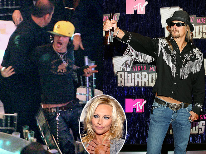 PAMELA ANDERSON & KID ROCK photo | Kid Rock, Pamela Anderson, Tommy Lee