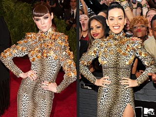Who Wore a Grill at the VMAs? No, It Wasn't Miley Cyrus. The Answer May Surprise You | Coco Rocha, Katy Perry