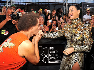 PHOTO: Odd Couple! Katy Perry & Richard Simmons Pose Together at VMAs | Katy Perry, Richard Simmons
