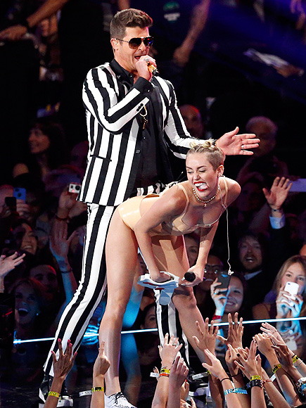 RUMP SHAKER photo | Miley Cyrus, Robin Thicke