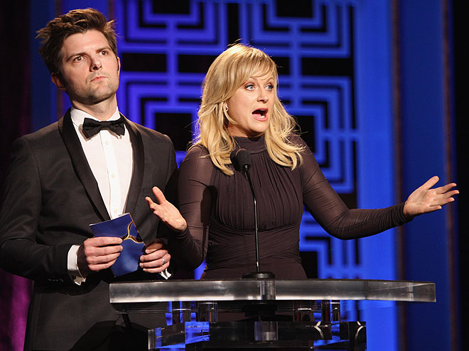 SPEAK NOW photo | Adam Scott, Amy Poehler