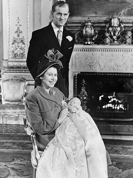 Крестины принца Чарльза